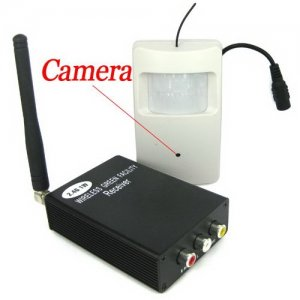 2.4GHz Wireless Transmission Kits - 4 Channels Transmitter + Cameras